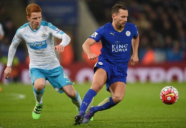 Danny Drinkwater -derecha-, jugador del Leicester City, fue convocado. (Foto Prensa Libre: Hemeroteca PL)