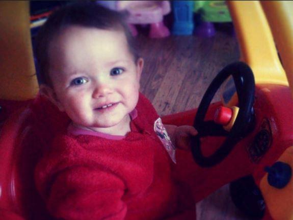 La pequeña Poppi Worthington tenía solo 13 meses de edad. (Foto: independent.com.uk).