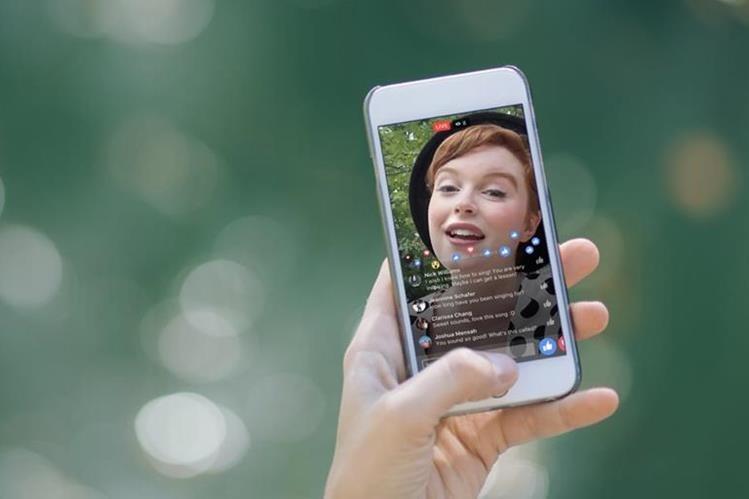 Facebook incorporó novedades a su plataforma de transmisión en vivo (Foto Prensa Libre: Facebook).