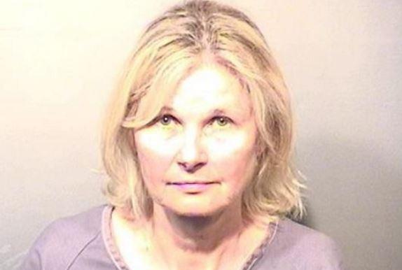 Victoria Reid de 60 años, señalada de abuso doméstico. (Foto: Florida Today).