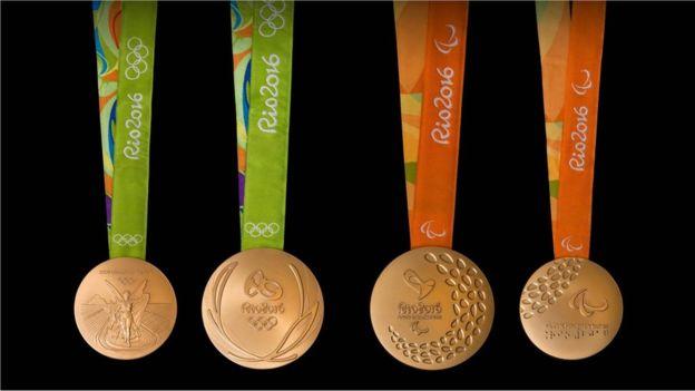 Las medallas de oro deben contener, al menos, 6 gramos de oro de 24 quilates. (Río 2016)