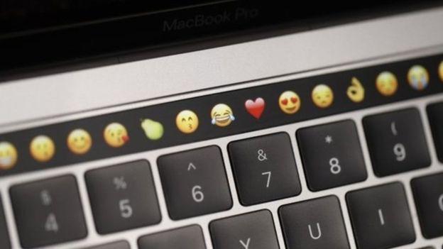 """El """"Touch Bar"""" es una de las innovaciones de la nueva MacBook Pro. (GETTY IMAGES)"""