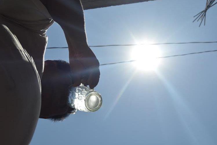Zacapa registró el miércoles último la temperatura más alta de los últimos 18 años. (Foto Prensa Libre: Víctor Gómez)