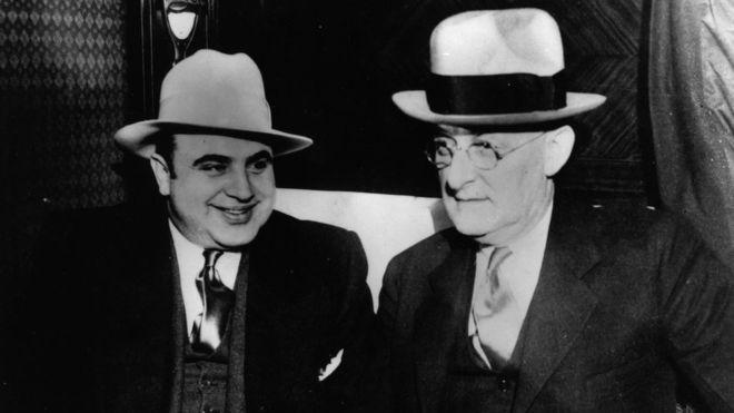 Al Capone multiplicó su poder en los tiempos de la Ley Seca. GETTY IMAGES