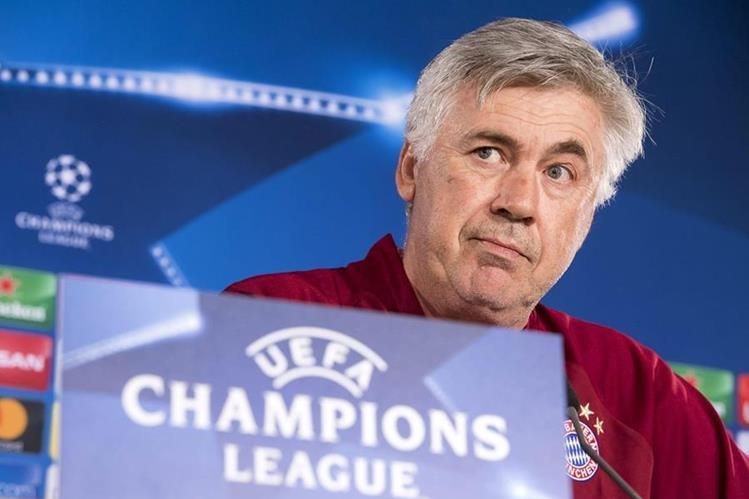 Carlo Ancelotti buscará ganar nuevamente la Champions League. (Foto Prensa Libre: EFE)