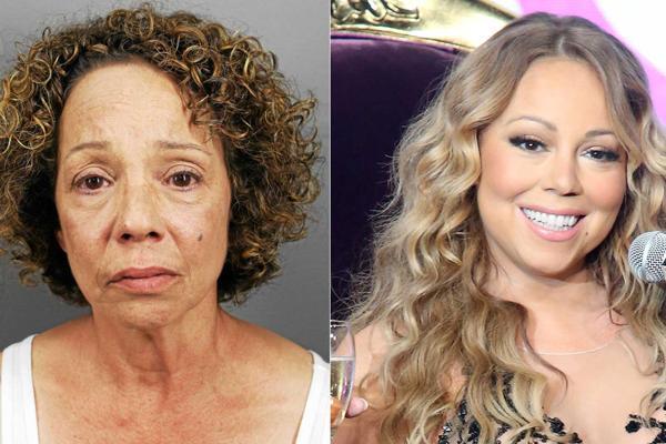 Alison Carey, de 55 años, es hermana de la cantante Mariah Carey. (Foto Prensa Libre: www.cdn.com.do)