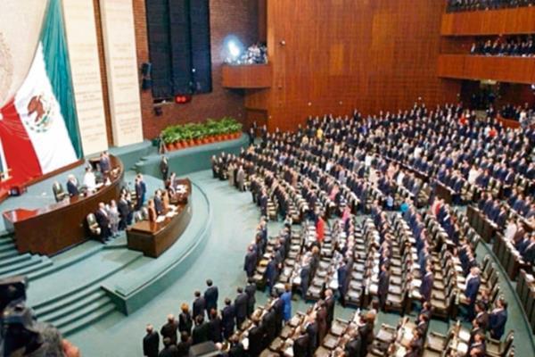 La Camará de Diputados mexicanos aprueban el porte de armas por agentes extranjeros. (fOTO pRENSA lIBRE:EFE)