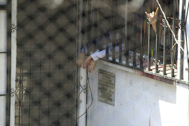 Algunos detenidos en Gaviotas esperan que se resuelva las demandas.