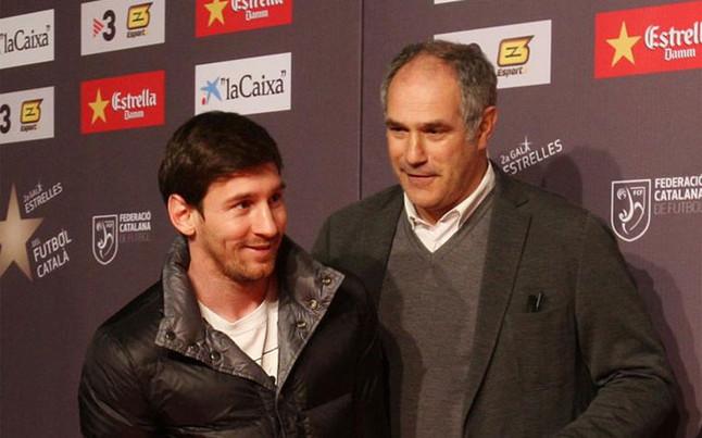 """""""La presencia de Leo en un terreno de juego, sea con el Barcelona o la Selección de Argentina, siempre es para hacer al fútbol más grande"""", dijo Andoni Zubizarreta. (Foto Prensa Libre: Hemeroteca)"""