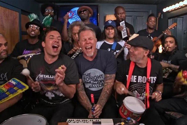 Metallica demostró que en cualquier condición, es una de las mejores bandas. (Foto Prensa Libre: Youtube)