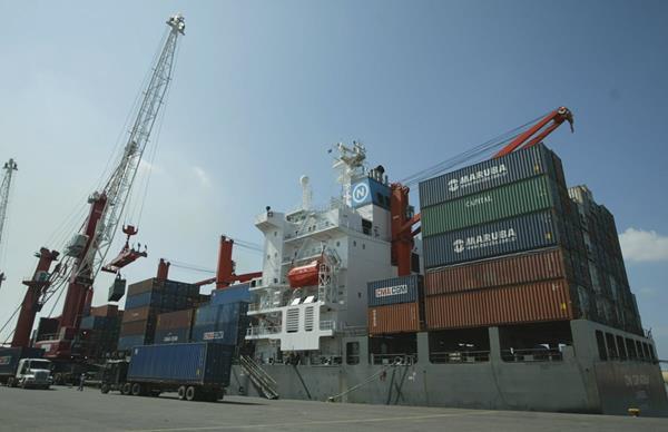 La Empresa Portuaria Quetzal fue intervenida el 25 de mayo de 2011 durante el gobierno de Álvaro Colom (Foto Prensa Libre: Hemeroteca PL)