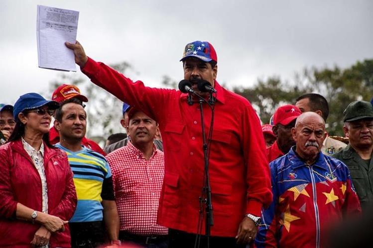 Almagro criticó la administración de Nicolás Maduro y pide comicios pronto. (Foto Prensa Libre: EFE)