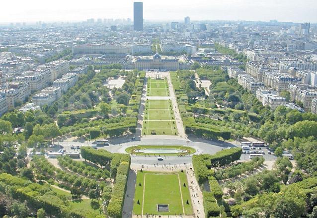 París, la Ciuda Luz, desde la Torre Eiffel. (Foto: Hemeroteca PL)