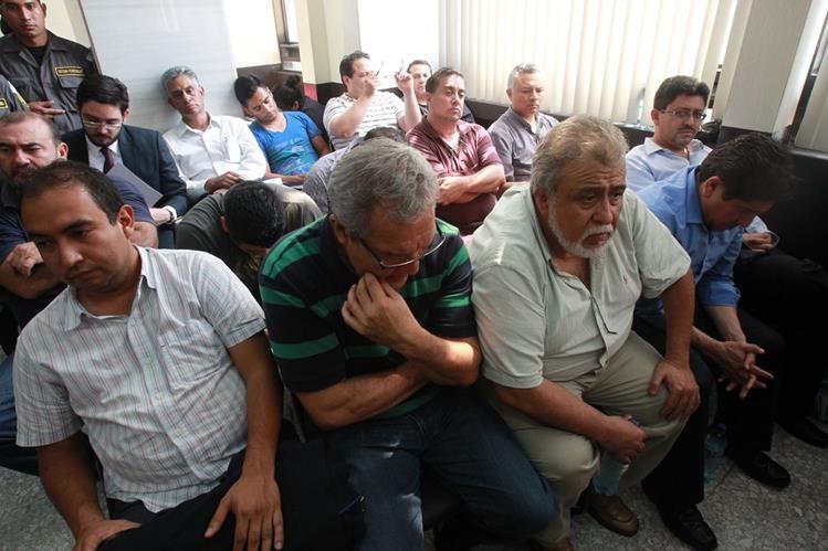 Tres de los supuestos líderes de La Línea, la estructura que defraudó a la SAT recobraran su libertad. (Foto Prensa Libre: Hemeroteca PL)