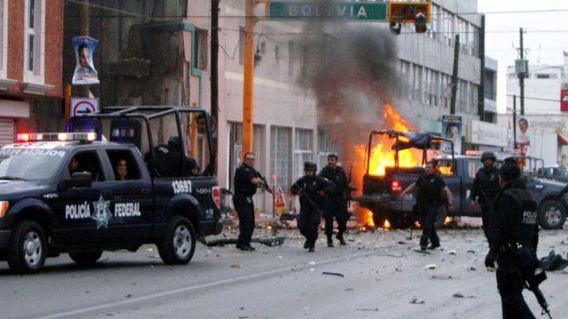 Ciudad Juárez fue años atrás la ciudad con la tasa de homicidios más alta del mundo. AFP