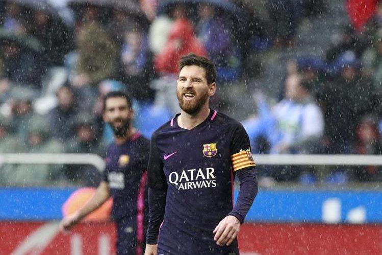 Como embajador de la Unicef, el astro argentino Lionel Messi exigió el cese de la guerra en Siria. (Foto Prensa Libre: EFE).