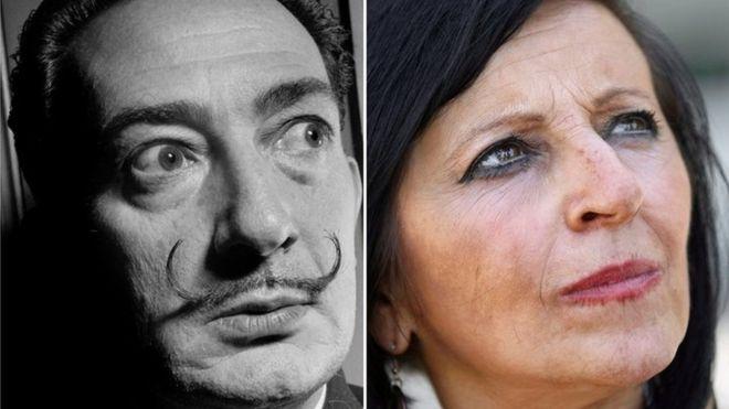 Martínez asegura que ella es fruto de una relación amorosa entre su madre y el artista español. AFP/EPA