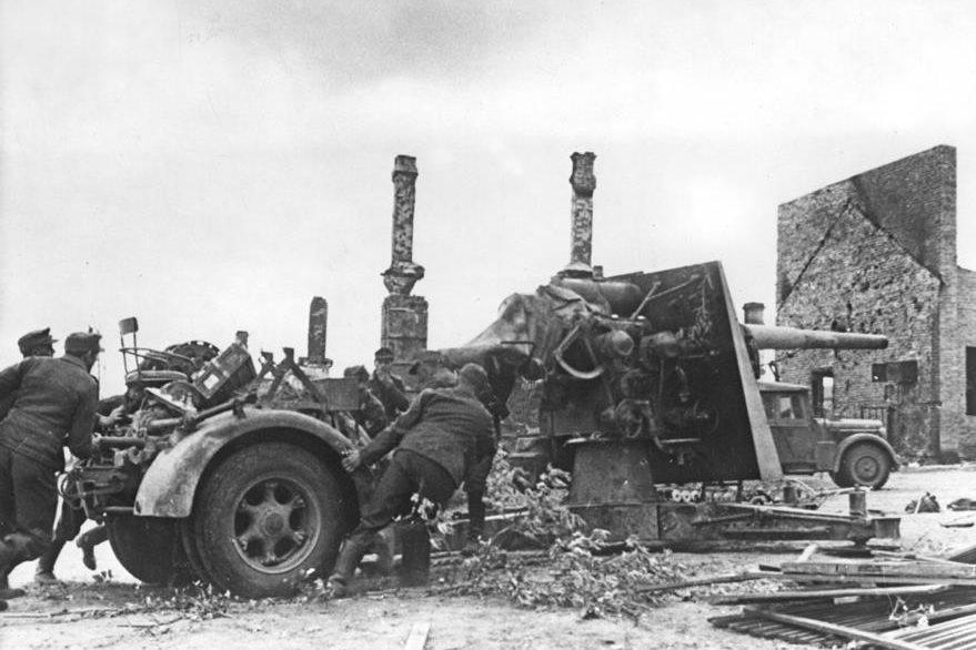 Combates en Stalingrado en 1942, durante la Segunda Guerra Mundial (Foto: Hemeroteca PL)
