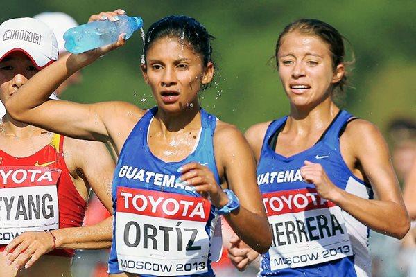 Mirna Ortiz y Mayra Herrera, clasificaron a los Juegos Olímpicos de Río 2016 en los 20K de Marcha Atlética. (Foto Prensa Libre: Hemeroteca PL)