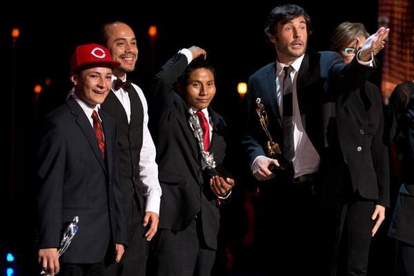 <p>La Jaula de Oro obtuvo nueve estatuillas de las 14 a las que estaba nominada. (Foto Prensa Libre: AP)<br></p>