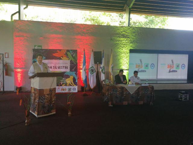 La convención en favor de la fauna fue inaugurada en el zoológico La Aurora. (Foto Prensa Libre: Carlos Álvarez)