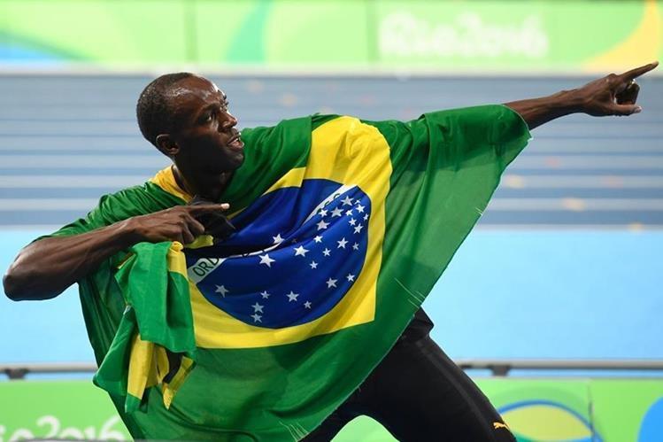 Bolt no se cansa de hacer historia en el atletismo mundial. (Foto Prensa Libre: AFP)