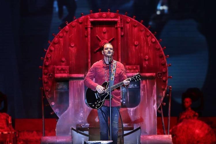 La gira Circo Soledad, del álbum reciente de Ricardo Arjona, comenzó en 2017. (Foto Prensa Libre: Érick Ávila)