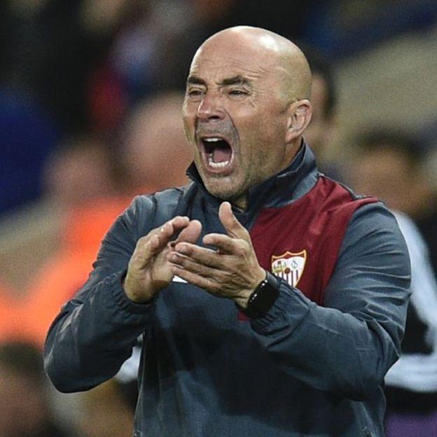 Sampaoli tuvo un inicio fulgurante en el futbol europeo, pero ha sufrido una segunda irregular segunda parte de temporada. (Getty Images)