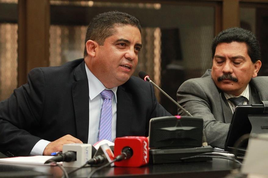 Juan Carlos Monzó—n Rojas fungió como secretario privado de la entonces vicepresidenta Roxana Baldetti.(Foto Prensa Libre: Hemeroteca PL).