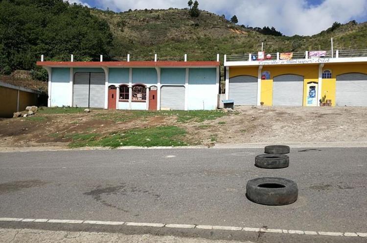 En algunos tramos el paso está restringido y es controlado por el Ejército de Guatemala.