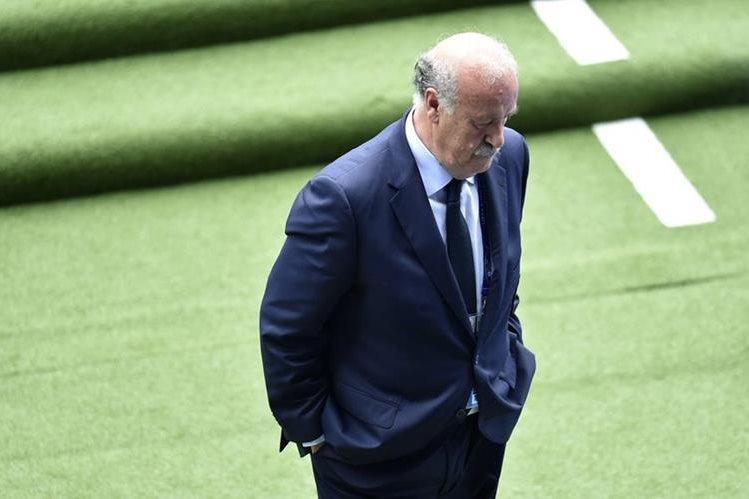 Del Bosque ganó un Mundial y dos Eurocopas con la Selección española. (Foto Prensa Libre: AFP)