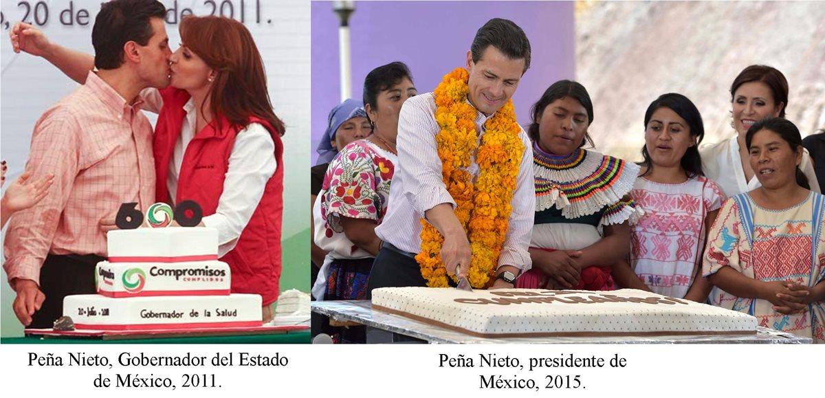 Este año, Angélica Rivera no acompañó a Peña Nieto en la celebración de su cumpleaños.
