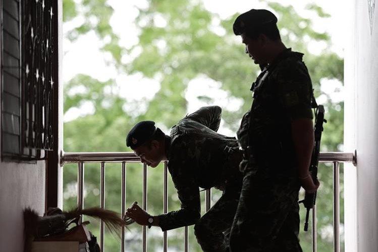 <em>La corrupción está muy extendida entre las fuerzas del orden en Tailandia. (Foto Prensa Libre: AFP).</em>