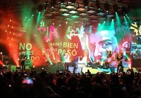 El cantante español hizo vibrar el Fórum Majadas.