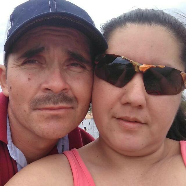 La pareja de esquipultecos que falleció en un accidente en Estados Unidos. (Foto Prensa Libre: Mario Morales)