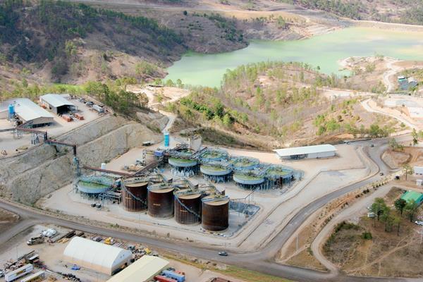 La minería enfrenta desafíos. (Foto Prensa Libre: Hemeroteca PL).