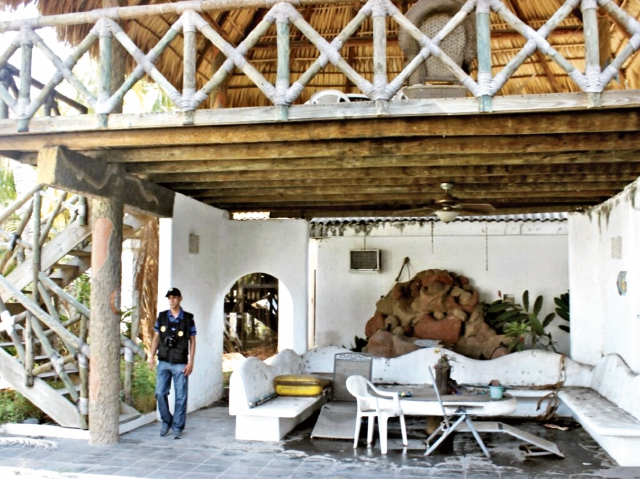 El chalé en el exclusivo complejo de San Marino fue valuado, cuando se compró, en US$320 mil. (Foto Prensa Libre: MP)