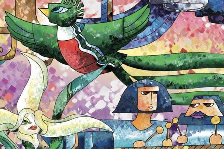 Al analizar la esencia de los símbolos patrios podemos encontrar aciertos y desaciertos. (Ilustración Prensa Libre: Kevin Ramírez)