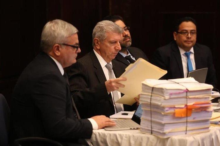 Representantes de Cicig acudieron al Congreso el pasado 2 de octubre para presentarse ante la Comisión Pesquisidora. (Foto Prensa Libre: HemerotecaPL)