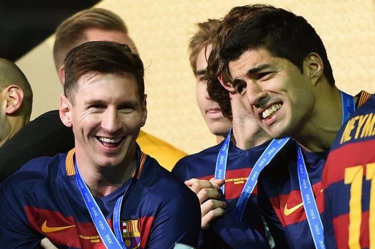 Messi y Barcelona ganaron recientemente el Mundial de Clubes 2015 que se organizó en Japón. (Foto Prensa Libre: AFP).