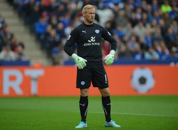 Kasper Schmeichel, portero del Leicester, estará fuera por lesión entre 4 a 6 semanas. (Foto Prensa Libre: Hemeroteca)