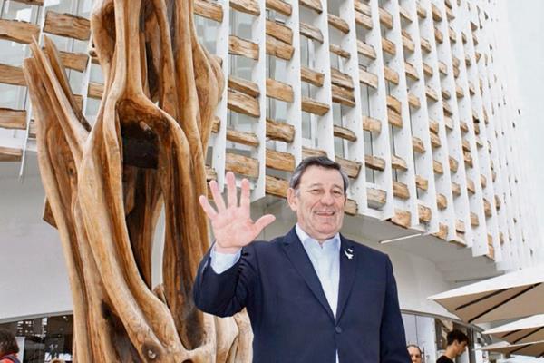 Rodolfo Nin, ministro de asuntos Exteriores de Uruguay.