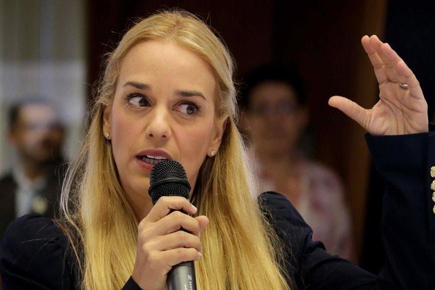Lilian Tintori el rostro más conocido de la oposición venezolana. (Foto Prensa Libre: EFE).