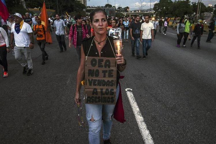 La OEA decidió no tomar parte en el conflicto venezolano. (Foto Prensa Libre: AFP)