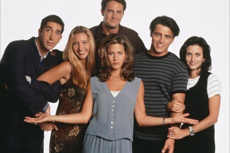 La serie Friends comenzó a transmitirse en septiembre de 1994. (Foto Prensa Libre: Hemeroteca PL)