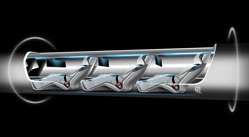 Los viajeros serán transportados en cápsulas suspendidas en el aire, a través de tubos. (Foto: Hemeroteca PL).