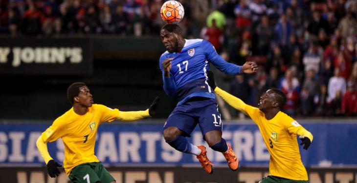 San Vicente y las Granadinas, cayó 6-1 frente a Estados Unidos el viernes recién pasado en el inicio de la eliminatoria a Rusia 2018. (Foto Prensa Libre: Concacaf)
