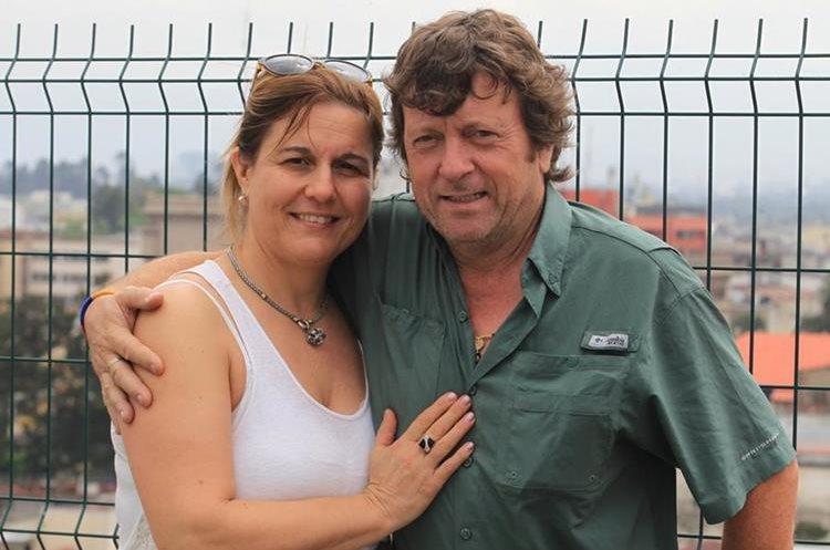 Roxana Conci, esposa de Fernando, viajó a Guatemala para reencontrarse después de un mes con el argentino.