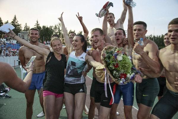 Las atletas rusas esperan participar en los Juegos Olímpicos de Río 2016. (Foto Prensa Libre: AP)