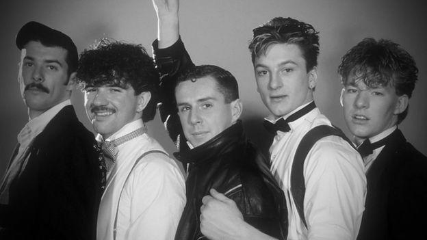 El grupo británico Frankie Goes to Hollywood fue un suceso musical a inicios de 1984.